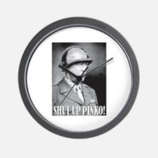 General George S. Patton says, SHUT UP PINKO! Wall