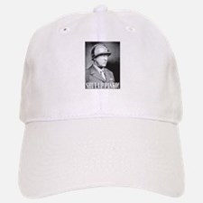 General George S. Patton says, SHUT UP PINKO! Baseball Baseball Cap