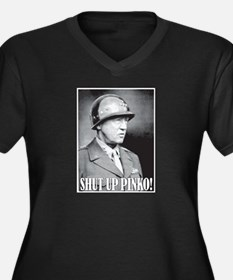 General George S. Patton says, SHUT UP PINKO! Wome