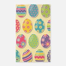 Easter Eggs Area Rug