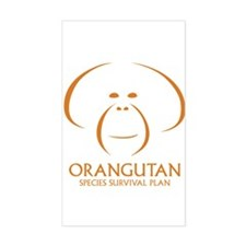 Orangutan Ssp Logo Sticker (orange Logo)