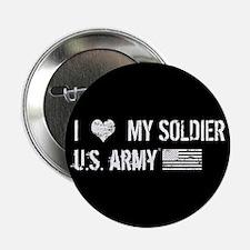 "U.S. Army: I Love My Soldi 2.25"" Button (100 pack)"