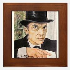 Jeremy Brett as Sherlock Holmes (1) Framed Tile