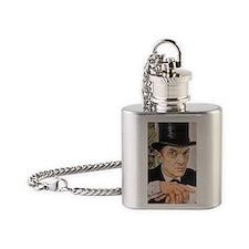 Jeremy Brett as Sherlock Holmes (1) Flask Necklace