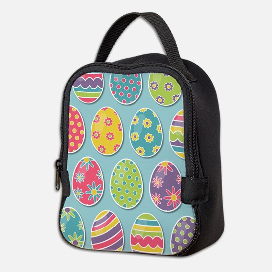 Easter Eggs Neoprene Lunch Bag