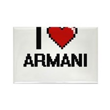 I Love Armani Magnets