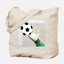 Cute Goalkeeper Tote Bag