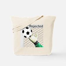 Funny Soccer goal Tote Bag