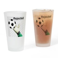 Cute Futbol Drinking Glass