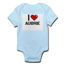 I Love Aubrie Body Suit