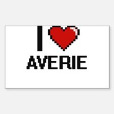 I Love Averie Decal