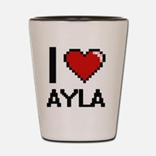 Funny Ayla Shot Glass