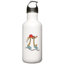 Funny Long Running Pi Water Bottle