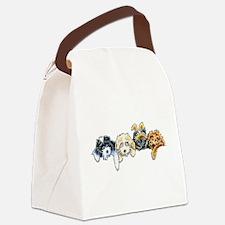 Sleepy Cockapoos Canvas Lunch Bag