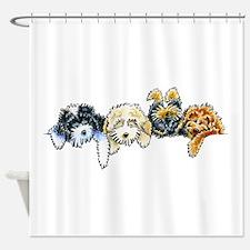 Sleepy Cockapoos Shower Curtain