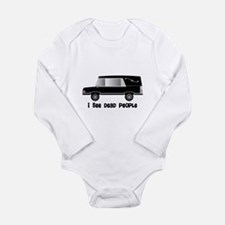 Funny Mortician Long Sleeve Infant Bodysuit