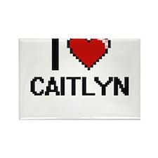 I Love Caitlyn Magnets