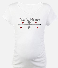 I Love You This Much Shirt