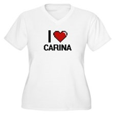 I Love Carina Plus Size T-Shirt