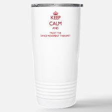 Funny Keep calm and dance Travel Mug