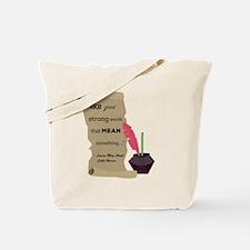 Cute Louisa may alcott Tote Bag