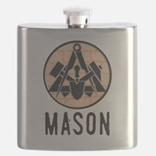Cute Master mason Flask