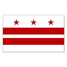Washington D.C. Flag Decal
