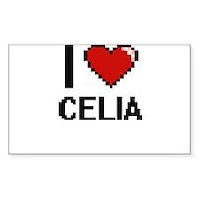 I Love Celia Bumper Stickers