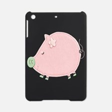 Little Round Pink Piggy iPad Mini Case
