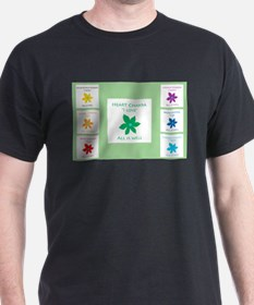 all is well chakra flowers g T-Shirt