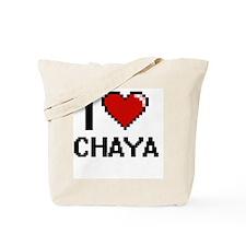 I Love Chaya Tote Bag