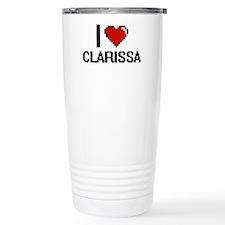 I Love Clarissa Travel Mug