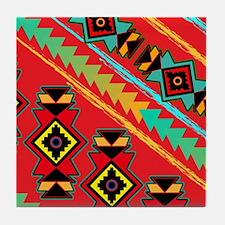 TRIBAL LOVE Tile Coaster