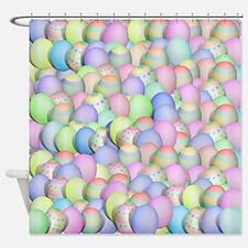 Unique Easter Shower Curtain