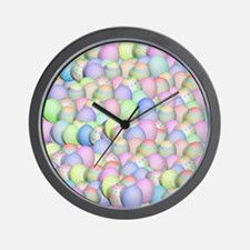 Unique Easter eggs Wall Clock