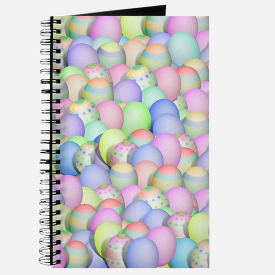 Pastel Colored Easter Eggs Journal