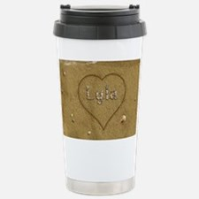 Lyla Beach Love Stainless Steel Travel Mug