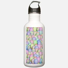 Pastel Colored Easter Water Bottle