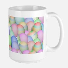Pastel Colored Easter Eggs Mugs