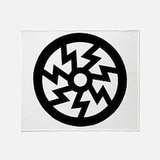 S-Rune Wheel Throw Blanket
