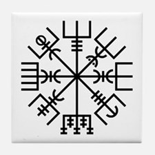 Vegvisir 2 Tile Coaster