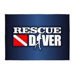 Rescue 3 5'x7'Area Rug