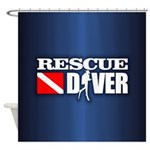 Rescue 3 Shower Curtain