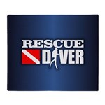 Rescue 3 Throw Blanket