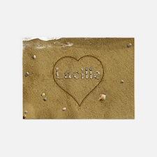 Lucille Beach Love 5'x7'Area Rug