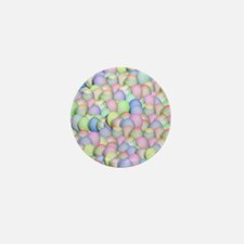 Pastel Colored Easter Eggs Mini Button (10 pack)