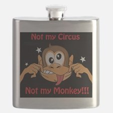 Not My Monkey Flask