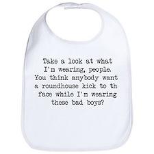 What I'm Wearing (Blk) - Napoleon Bib