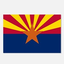State Flag of Arizona Postcards (Package of 8)
