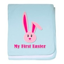 My First Easter - Bunny baby blanket